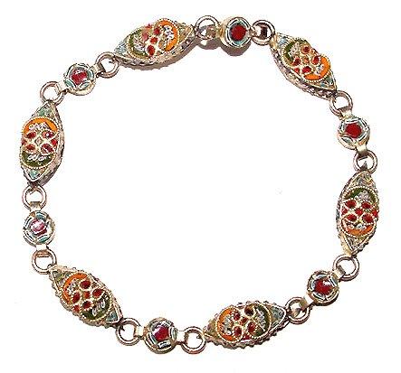 Vintage Early 20th Century Mosaic Bracelet