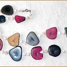 1950s Modernist Beatnik Beads to Match a Tan & Sandals - Free USA Shipping