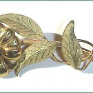 Signed Samsan c1950 Victorian Revival Brooch - Free USA Shipping