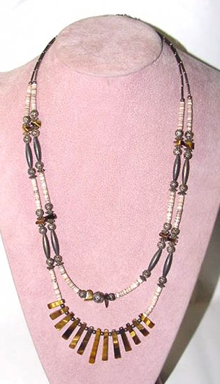 Two-Strand Navajo Stone Necklace