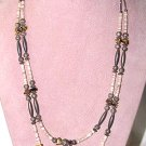 Two-Strand Navajo Stone Necklace - Free USA Shipping