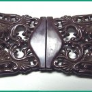 Fancy Vintage Celluloid Buckle - Free USA Shipping