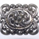 Signed Danecraft Victorian Revival Sterling Brooch