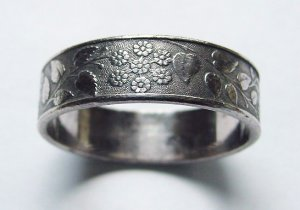 Lovely Antique Victorian Napkin Ring - Free USA Shipping