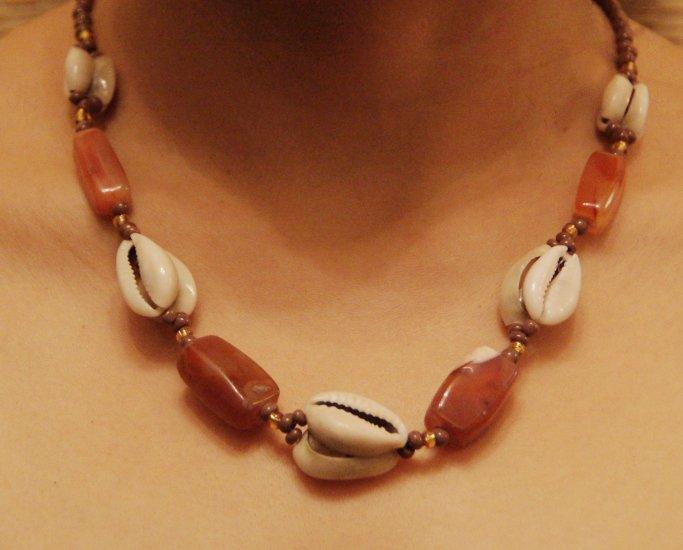 Cowry necklace