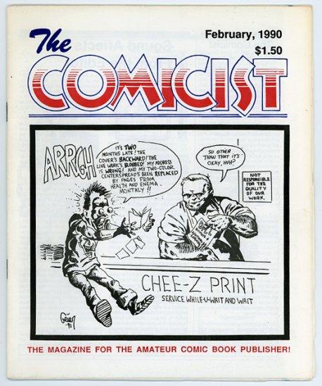 The Comicist #4, small press/ Mini comics fanzine, 1990