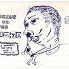 Homage To The Nose mini comic Rick Wayne, GJ Stein 1980