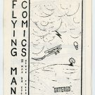 Flying Man #1 mini comic Hal Hargit Ozone Press 1986