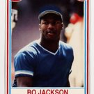 Bo Jackson Post Cereal Card 1990, Kansas City Royals
