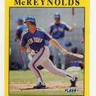 Kevin McReynolds Fleer 1991 Mint condition baseball card
