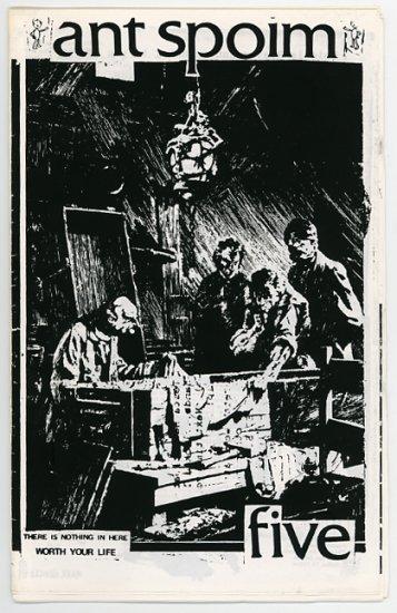 Ant Spoim #5 underground fanzine 1989 Mike Schafer, NYC
