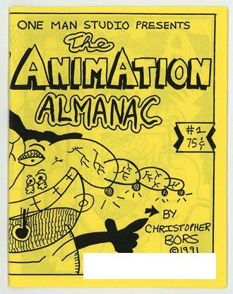 The Animation Almanac mini comic, 1991, One Man Studio