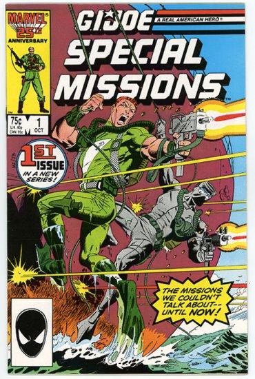 G.I. Joe Special Missions #1, Near Mint, 1986
