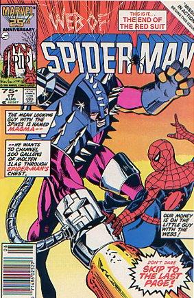 Web of Spider-Man #17 Marc Silvestri VF/NM 9.0
