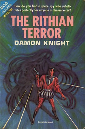The Rithian Terror and Off Center by Damon Knight, Ace double paperback