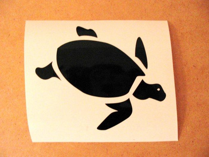 $1.99 TURTLE vinyl die cut sticker decal laptop car window wall decor
