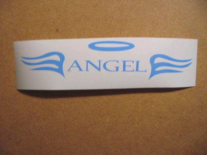 $1.99 ANGEL vinyl die cut sticker decal colors laptop car window wall decor