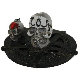 Skull Tattoo Machine/Gun Stand