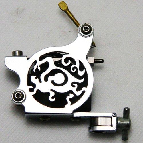 5 pcs Iron Dion Tattoo Machine/Gun for shader & liner 10 wrap coils WS-M004