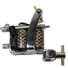 5 pcs Classical Tattoo Machine/Gun for Shader & Liner 10 Wrap Coils WS-MT028B