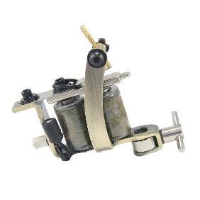 5 pcs Classical Tattoo Machine/Gun for Shader & Liner 10 Wrap Coils WS-MT028A