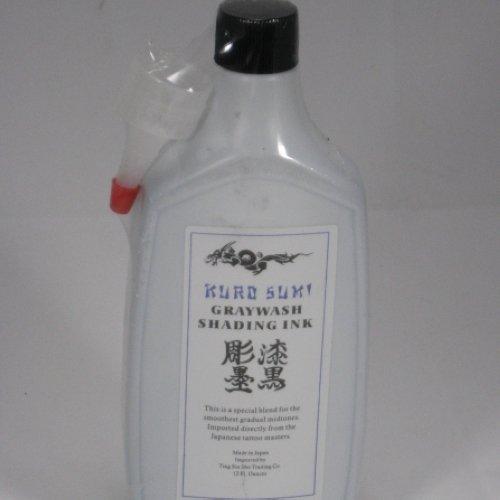 2 bottles  Kuro Sumi Tattoo GRAYWASH SHADING Ink,WS-I101B