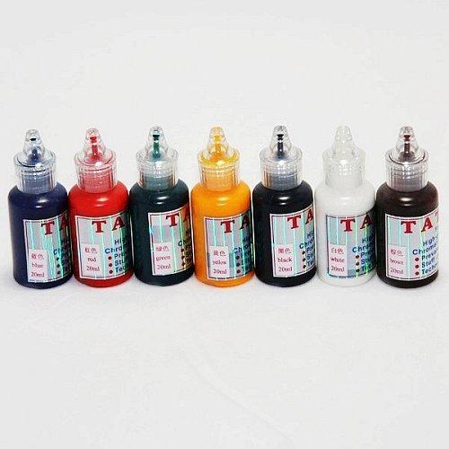 3 pcs 10 sets of Great quality tattoo ink (20ml) 7 colors/set