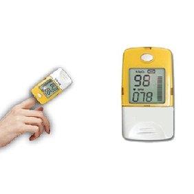 2 pcs Fingertip Pulse Oximeter Oxymètre with Big LCD Display 50B