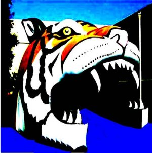 NEW! PRO SPORTS TIGER  MASCOT  SPORTS ENTRY TUNNEL INFLATABLE