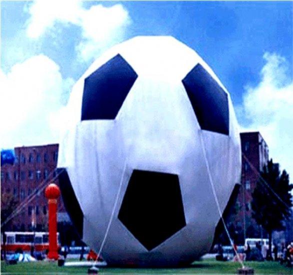 GIANT 25FT TALL SOCCER BALL