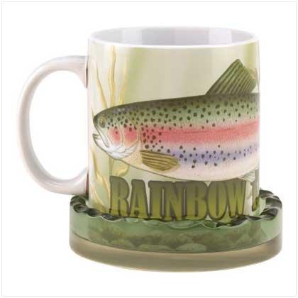 Rainbow Trout Mug/Coaster Set