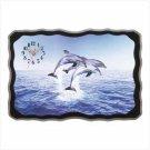 NEW - Dolphin Delight Wall Clock