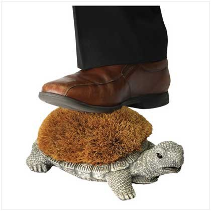 #13096 Turtle Shoe Brush