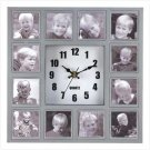 #13029 Photo Collage Wall Clock
