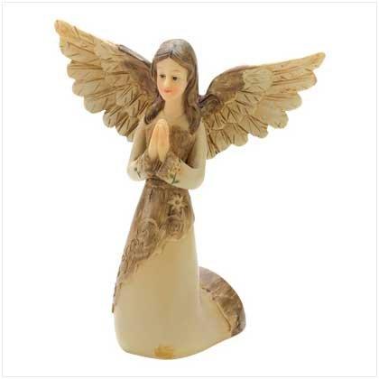 #12509 Antique Praying Angel Figurine