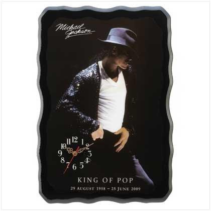 #13074 King of Pop Wall Clock
