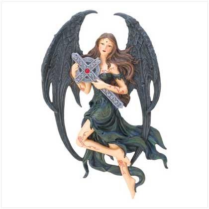 #12544 Gothic Angel Plaque