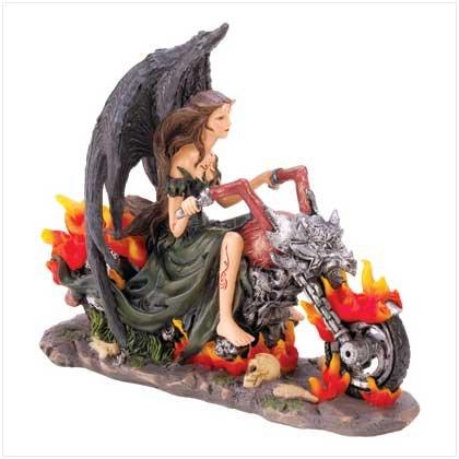 #12545 Gothic Angel Biker