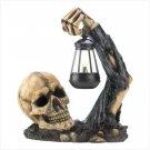#12612 Sinister Skull With Lantern