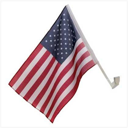 #12693 Automobile American Flag