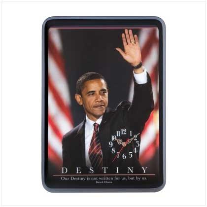 #12356 Barack Obama Wall Clock