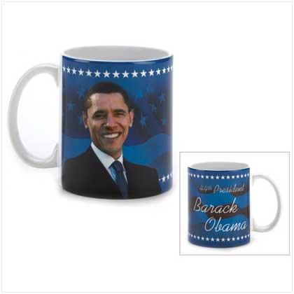 #12323 Barack Obama Patriotic Mug