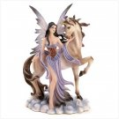 #12109 Fairy And Unicorn Figurine