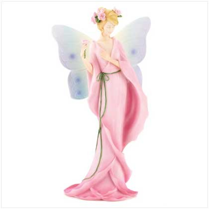 #12379 Floral Fairy With Rose