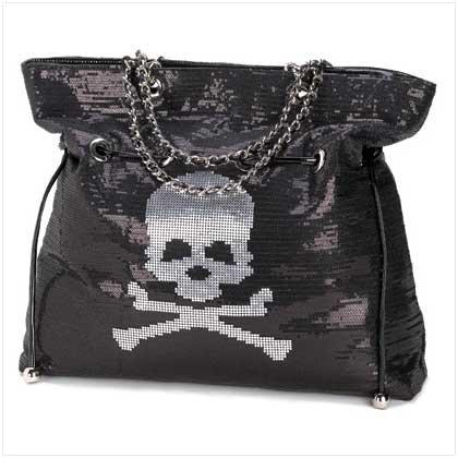 #12252 Spangled Skull Bag