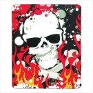 #12297 Skull Fleece Blanket