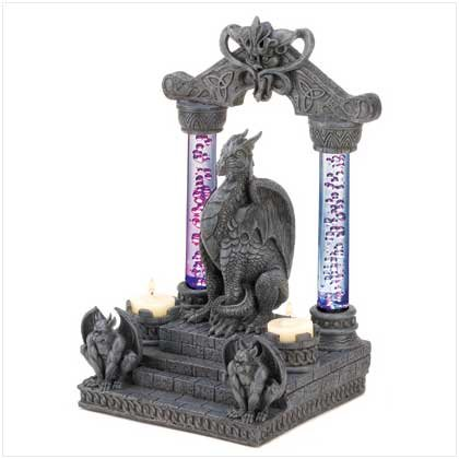 #39929 Dragon Temple Candleholder