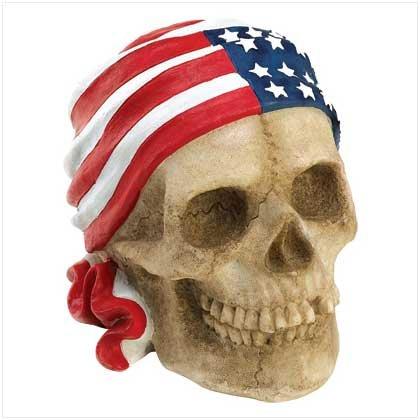 #39541 Biker Skull Bank