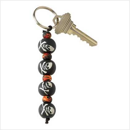 #39103 Jolly Roger Skull Keychain