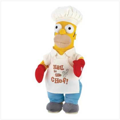#12473 Homer Simpson Dancing Chef